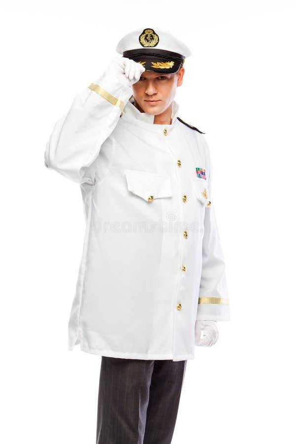 Kapitän zur See stockfoto