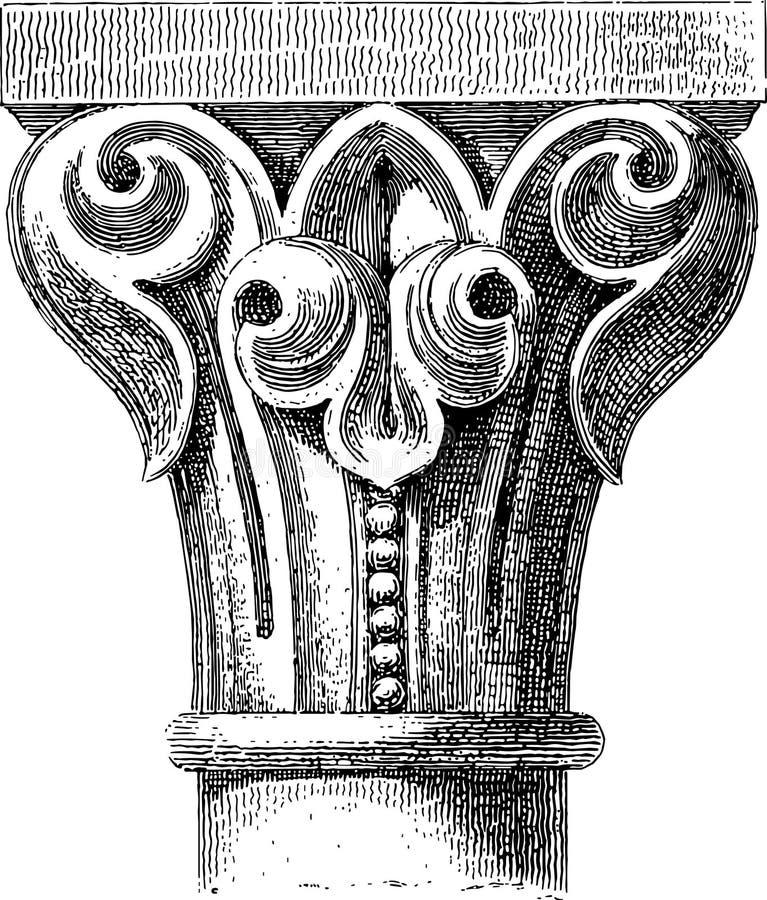 Kapitał royalty ilustracja