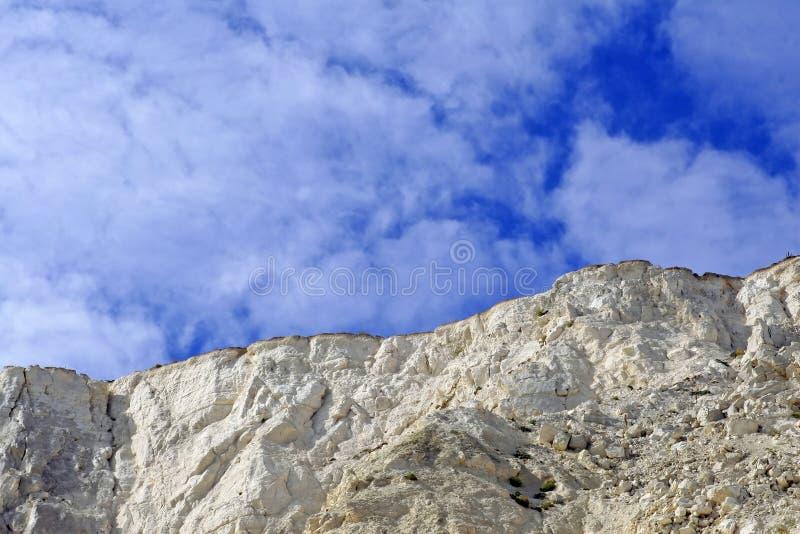 kapitał beachy Anglii głowy samobójstwo. zdjęcia stock