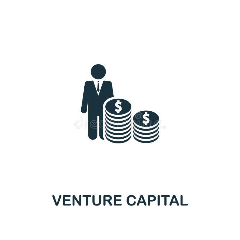 Kapitał Inwestycyjny ikona Premia stylu projekt od początkowej ikony kolekcji UI i UX Piksel doskonalić kapitał inwestycyjny ikon ilustracja wektor