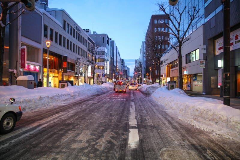 Kapitał, Sapporo fotografia royalty free