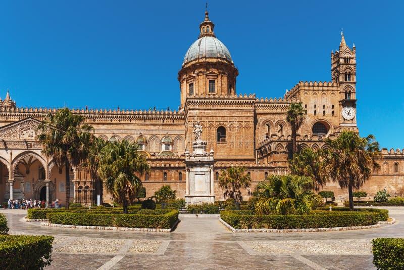 Kapitał Sicily, Palermo, Włochy - zdjęcia stock