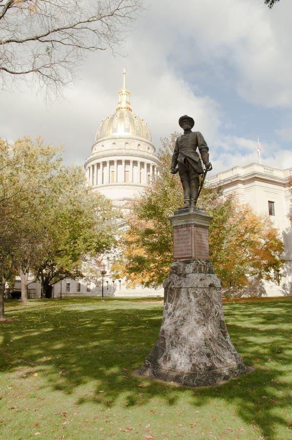 Kapitaal het West- van Virginia stock fotografie