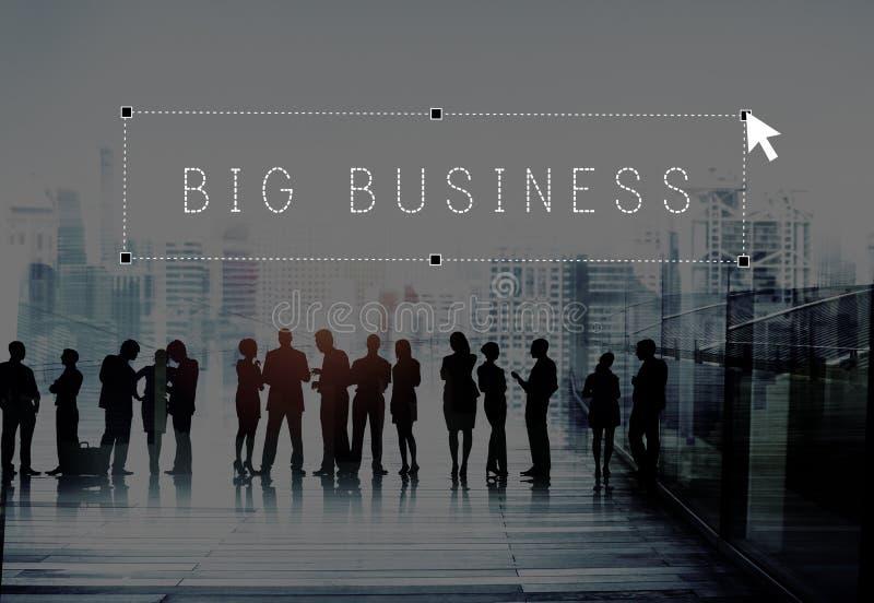 Kapitalgesellschafts-Organisations-Konzept des großen Geschäfts Firmen stockfotografie