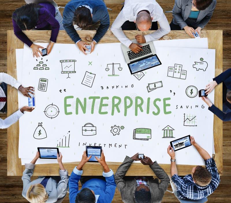 Kapitalgesellschafts-Organisations-Konzept Enterprise Company stockbilder
