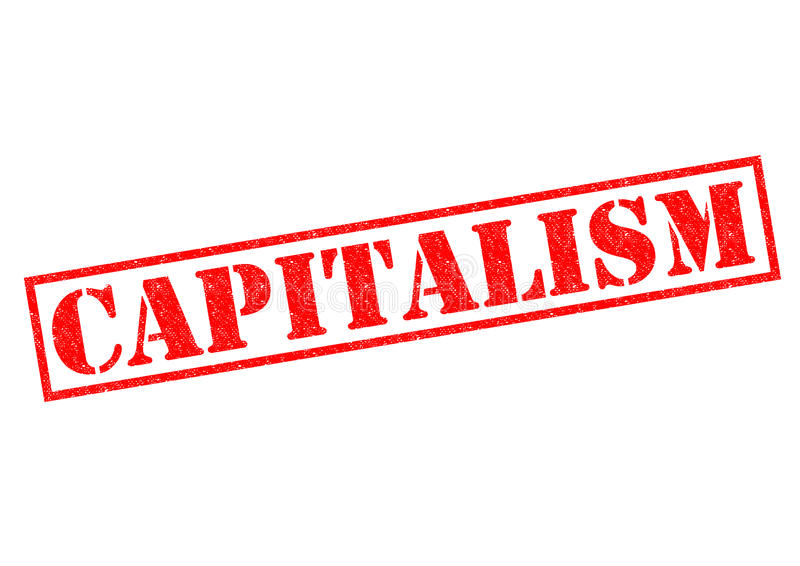 kapitalism vektor illustrationer