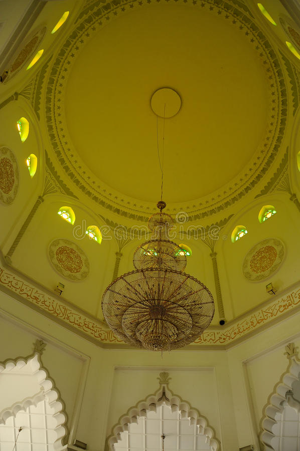 Kapitan Keling清真寺在槟榔岛 库存图片