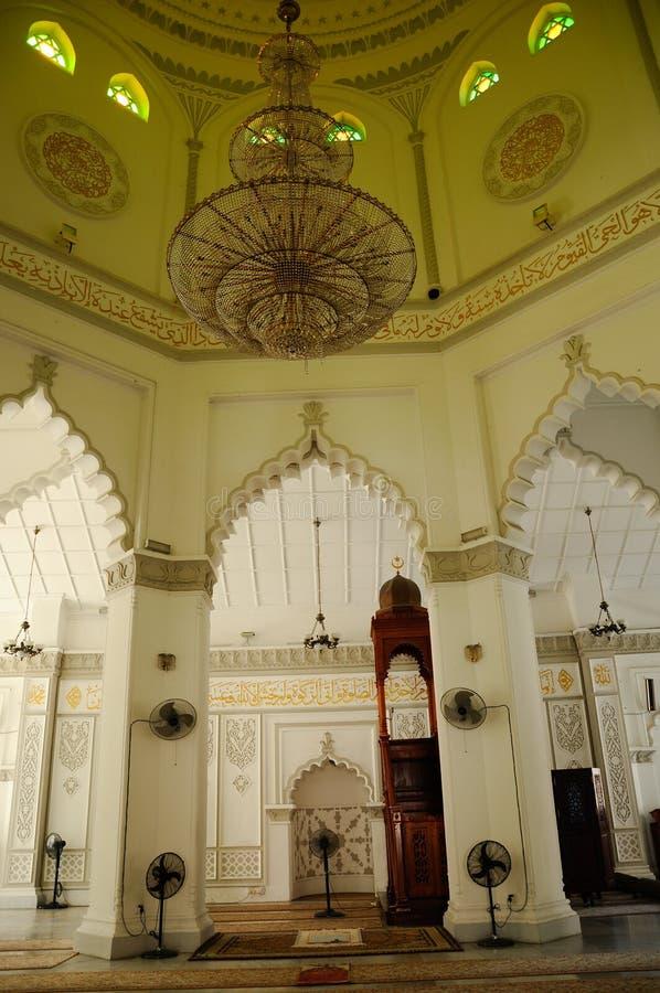 Kapitan Keling清真寺米哈拉布在槟榔岛 免版税库存照片