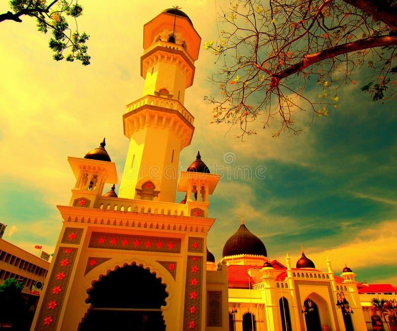kapitan keling мечеть стоковая фотография