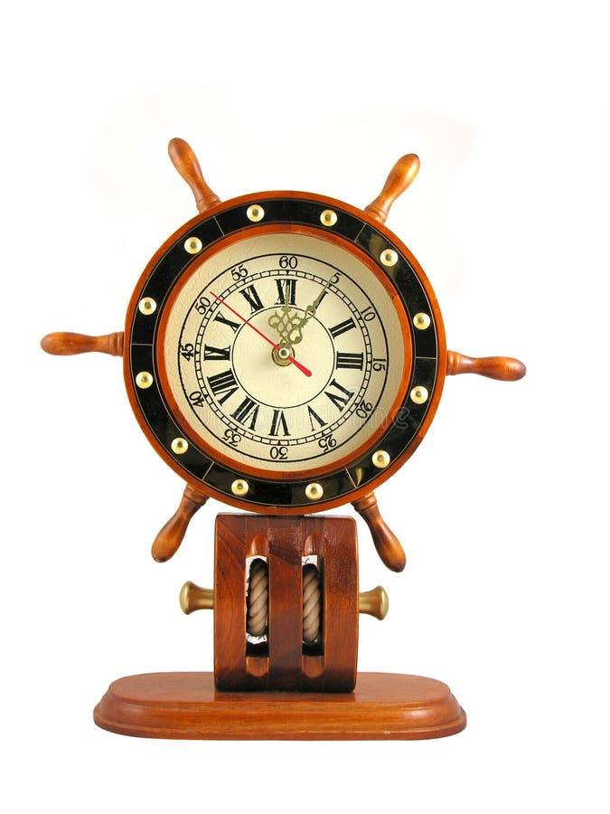 kapitan zegar koła zdjęcia stock
