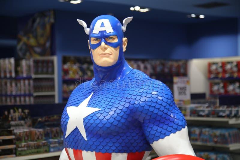 Kapitein Amerika stock foto's