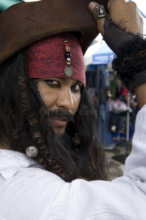 Kapitein Jack Sparrow, Piraten van de Caraïben royalty-vrije stock afbeelding
