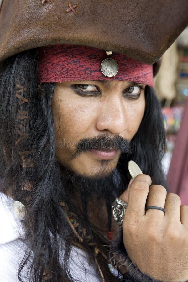 Kapitein Jack Sparrow, Piraten van de Caraïben royalty-vrije stock fotografie