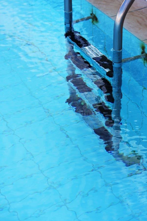 Kapitel des Swimmingpools lizenzfreie stockfotos
