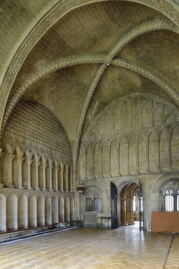 Kapitelhus, Bristol Cathedral royaltyfri bild
