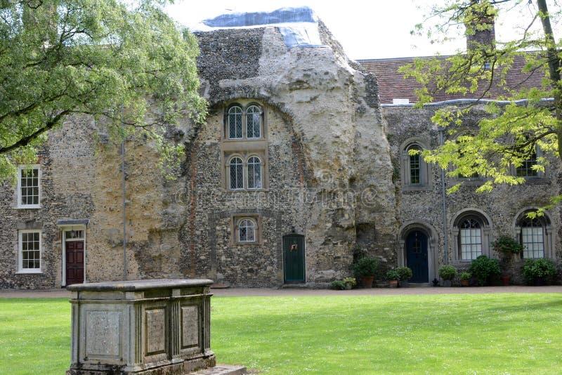 Kapitelhus på Bury st Edmunds arkivbilder