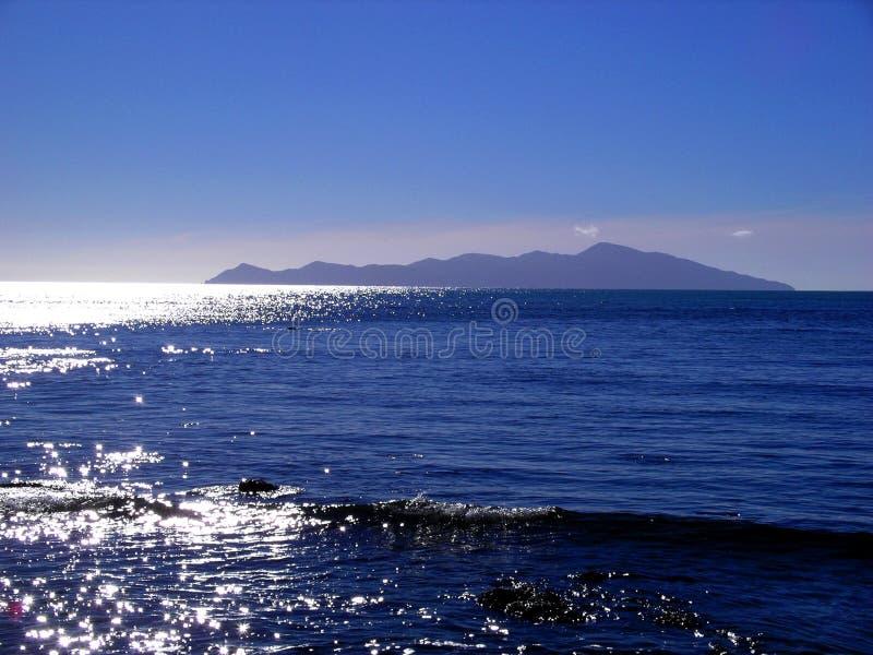Download Kapiti Island stock photo. Image of sunset, island, swell - 628038