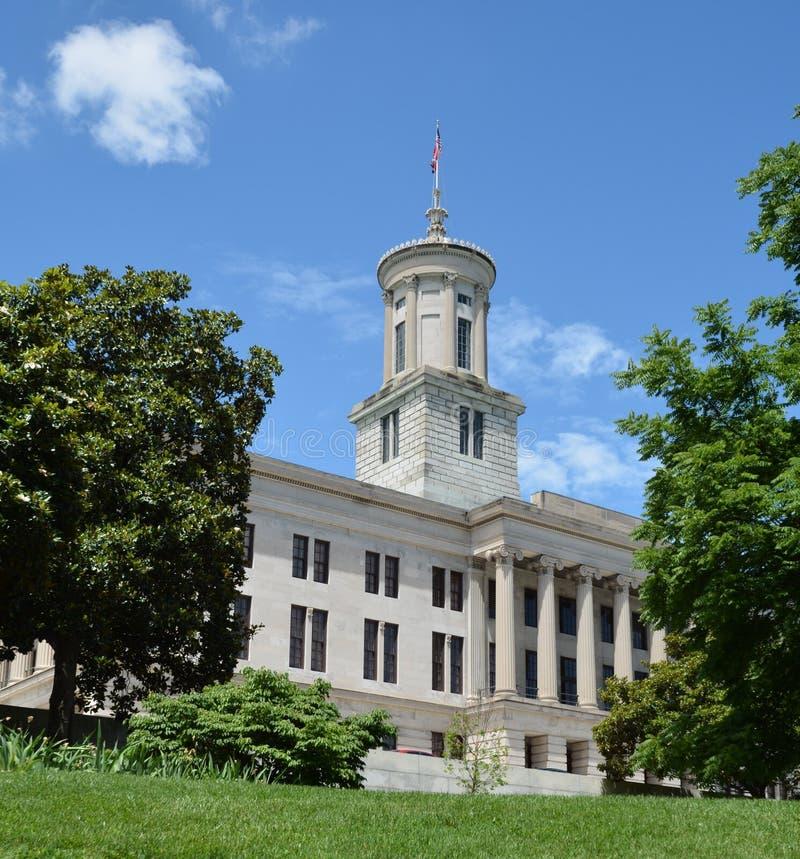 Kapitol ein Gebäude von Tennessee lizenzfreie stockbilder