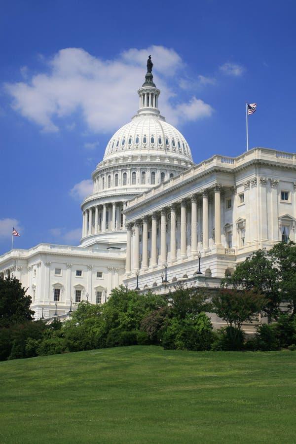 Kapitol-Gebäude im Washington DC lizenzfreies stockfoto