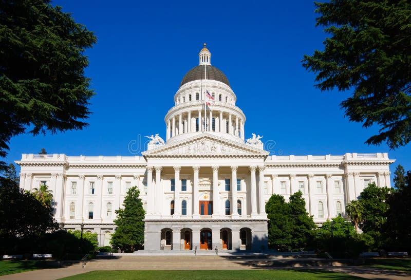 Kapitol-Gebäude in Sacramento stockfotografie