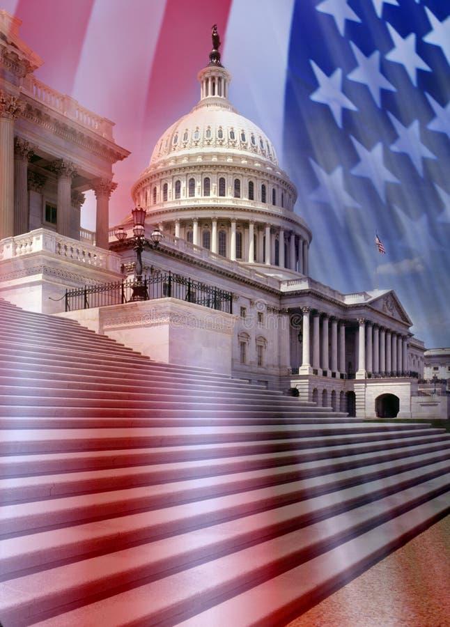 Kapitol-Gebäude - Washington DC Lizenzfreies Stockfoto