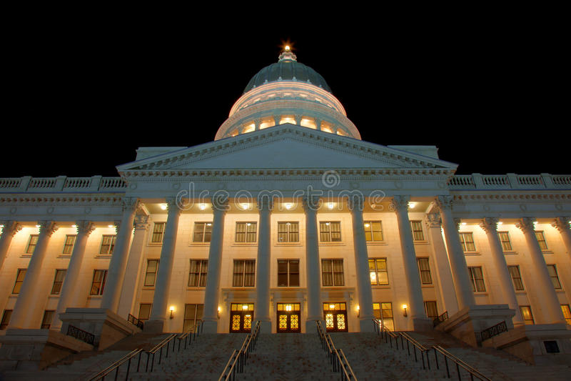 Kapitol Salt Lake City stockfoto