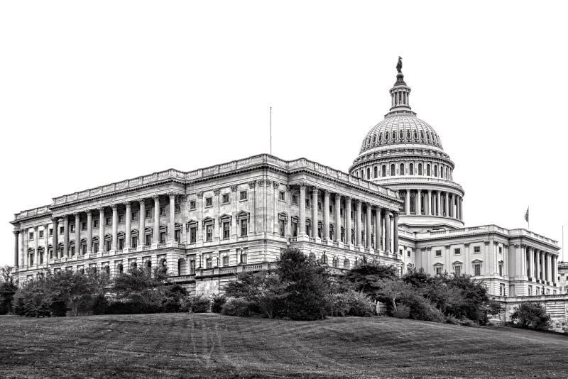 Kapitol-Senats-Flügel Vereinigter Staaten im Washington DC stockbilder