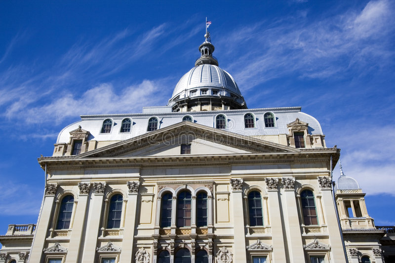 kapitol stan Illinois obrazy royalty free