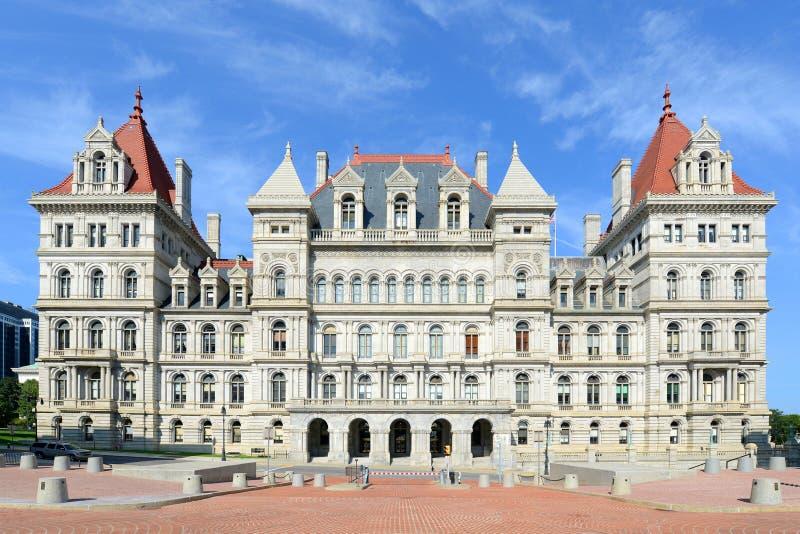 Kapitolium för New York stat, Albany, NY, USA royaltyfri bild
