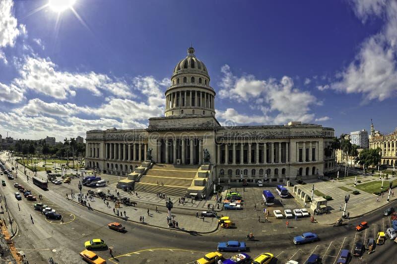 Kapitolium i havannacigarren, Kuba arkivbild