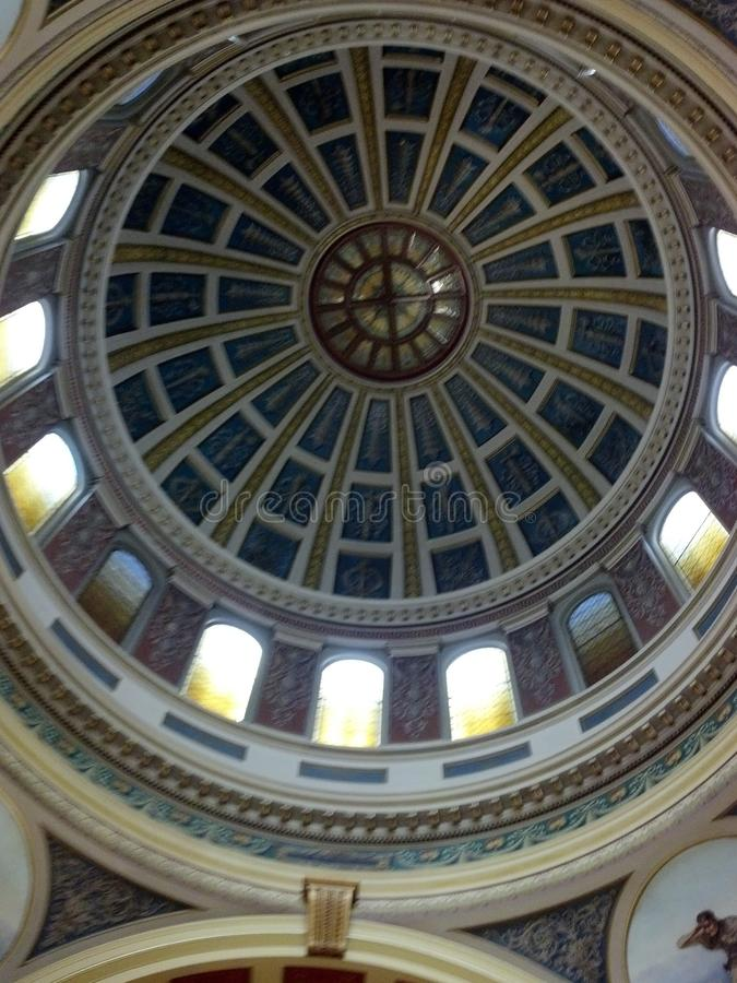 Kapitoliumkupol royaltyfria bilder