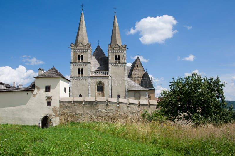 ¡ Kapitula de Spisskà e catedral de St Martin foto de stock royalty free