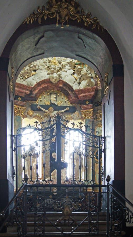 kaplica barokowa zdjęcia royalty free