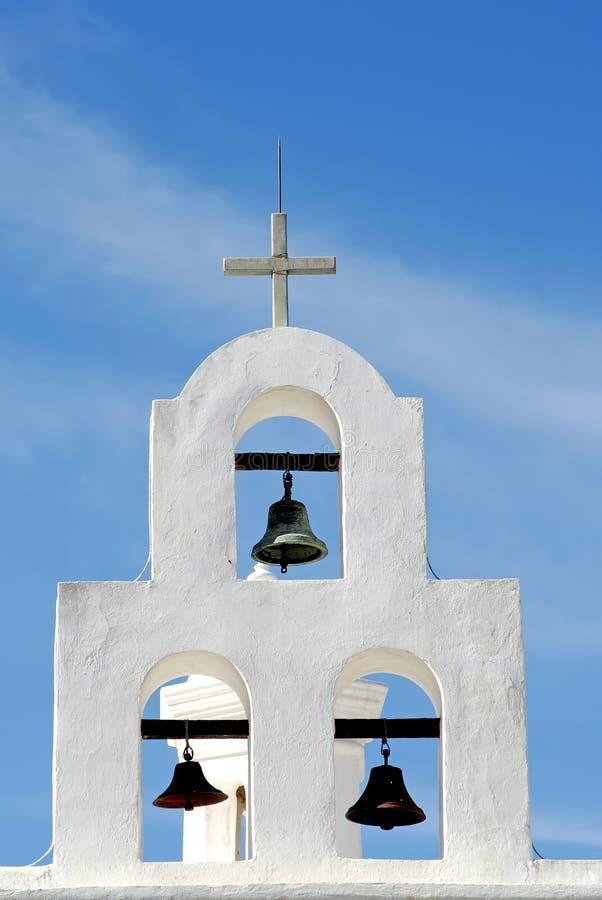 Kaplica hiszpańscy Dzwony obraz stock