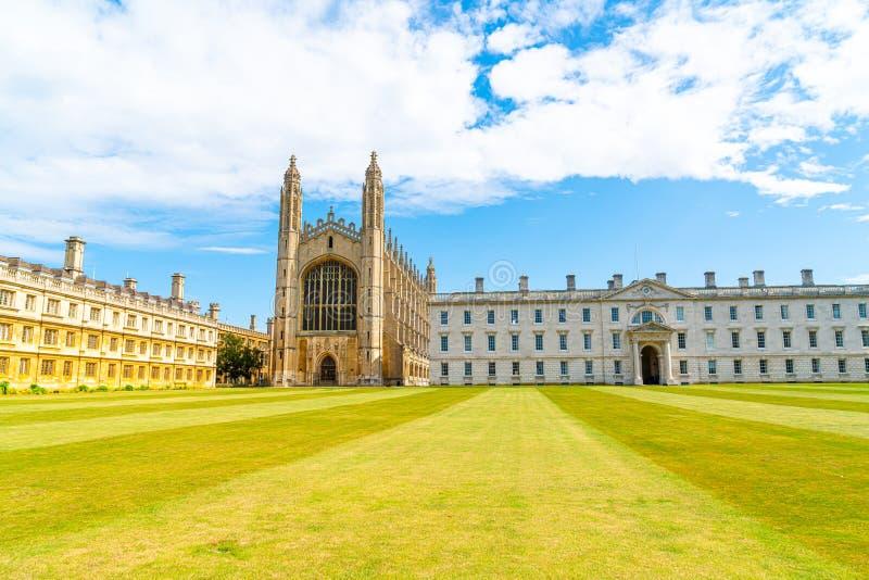 Kaplica King's College w Cambridge, Wlk. Brytania obraz stock