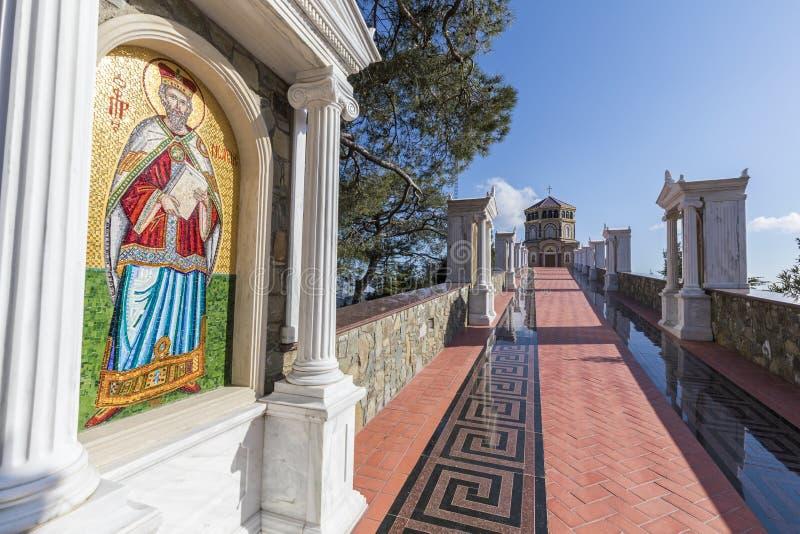 Kaplica na Throni wzgórzu zdjęcie royalty free