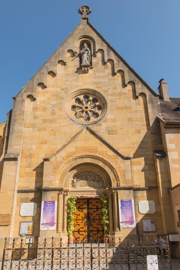 Kaplica objawienie władyka Jezus Margaret Mary Alacoqu fotografia royalty free