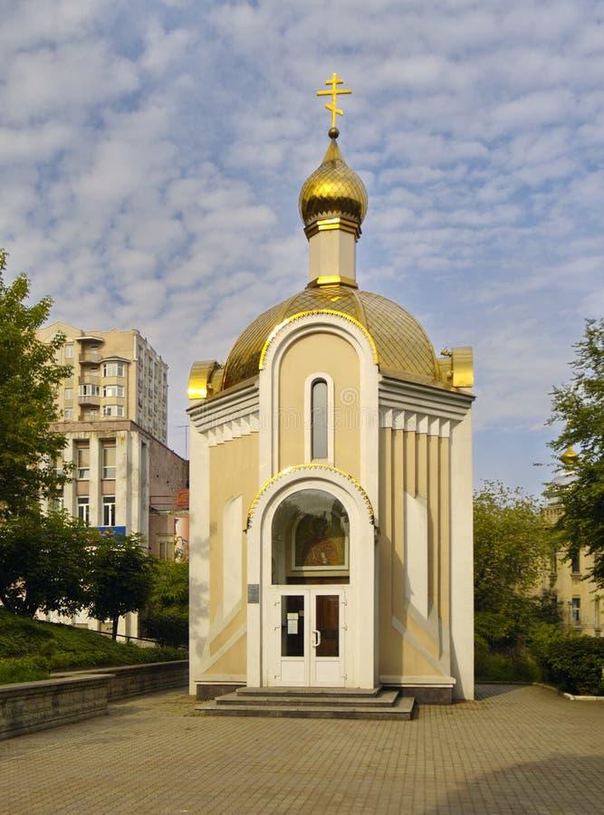 kaplica uniwersytet święty techniczny s Tatyana fotografia stock