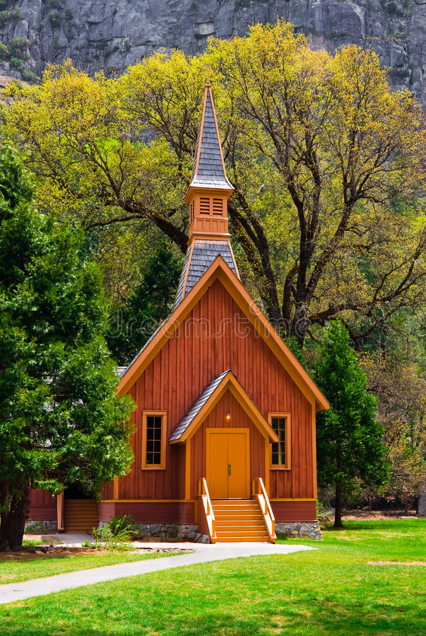 kaplica Yosemite zdjęcie stock