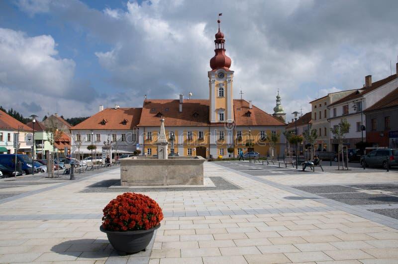 Kaplice, République Tchèque photos stock