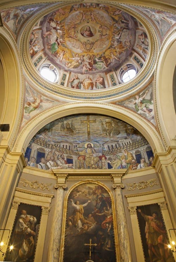 kaplicy Jesus mozaiki Rome nauczyciel obrazy stock