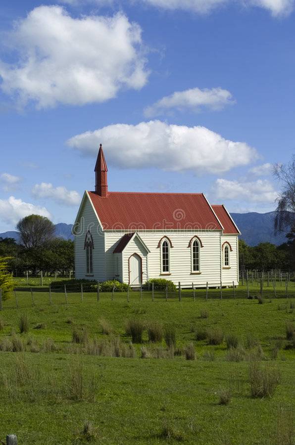 kaplicy wieś fotografia stock