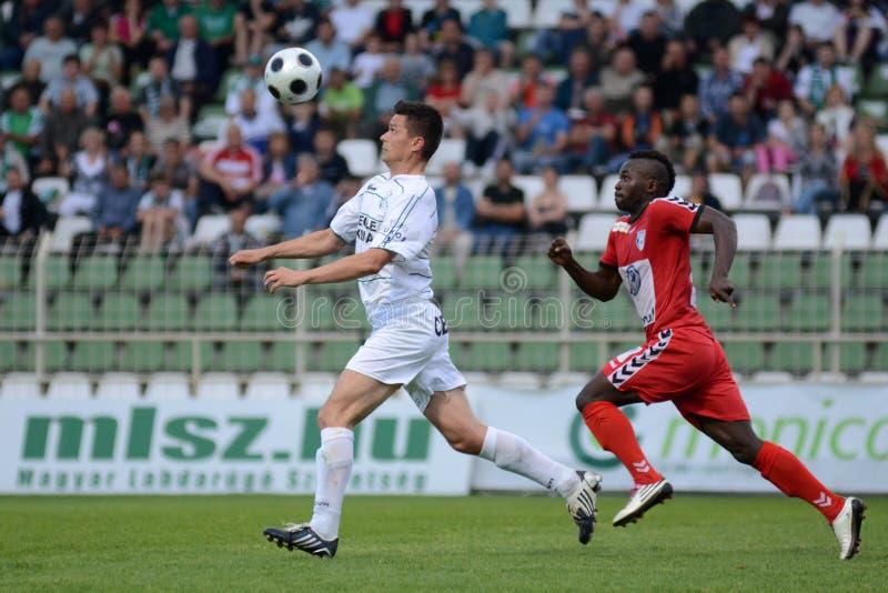 kaposvar ποδόσφαιρο παιχνιδιών szolnok στοκ φωτογραφίες