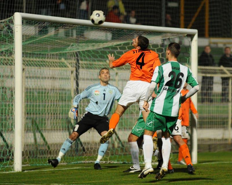 kaposvar ποδόσφαιρο gyor παιχνιδιών στοκ φωτογραφία με δικαίωμα ελεύθερης χρήσης
