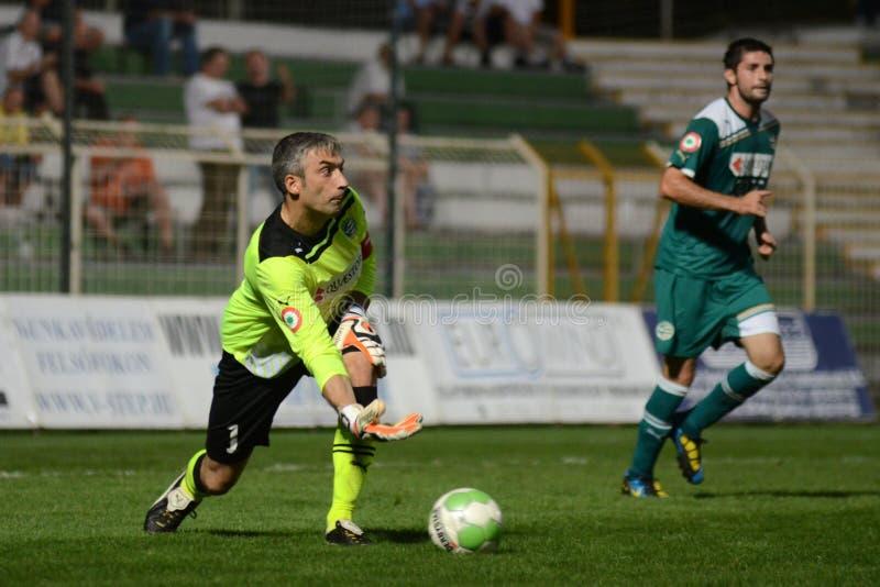 kaposvar ποδόσφαιρο gyor παιχνιδιών στοκ εικόνες