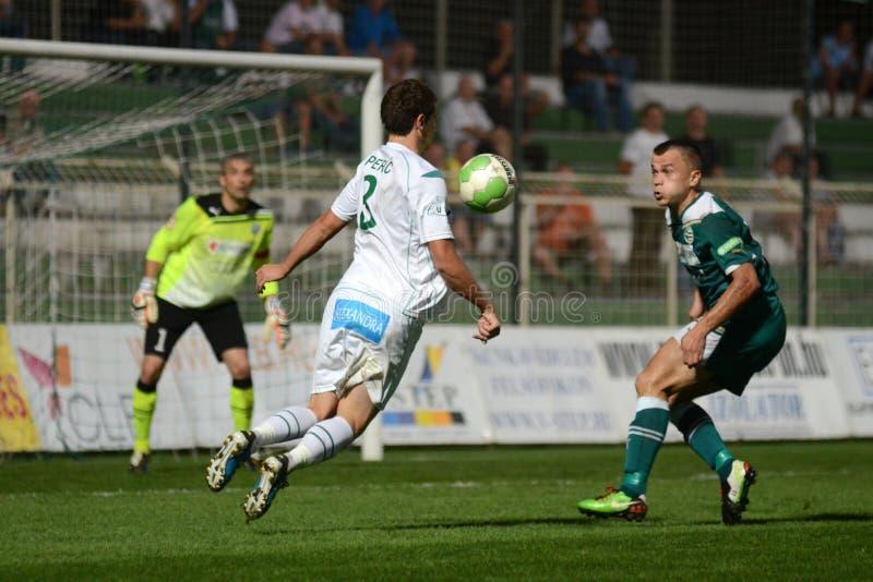 kaposvar ποδόσφαιρο gyor παιχνιδιών στοκ φωτογραφίες με δικαίωμα ελεύθερης χρήσης