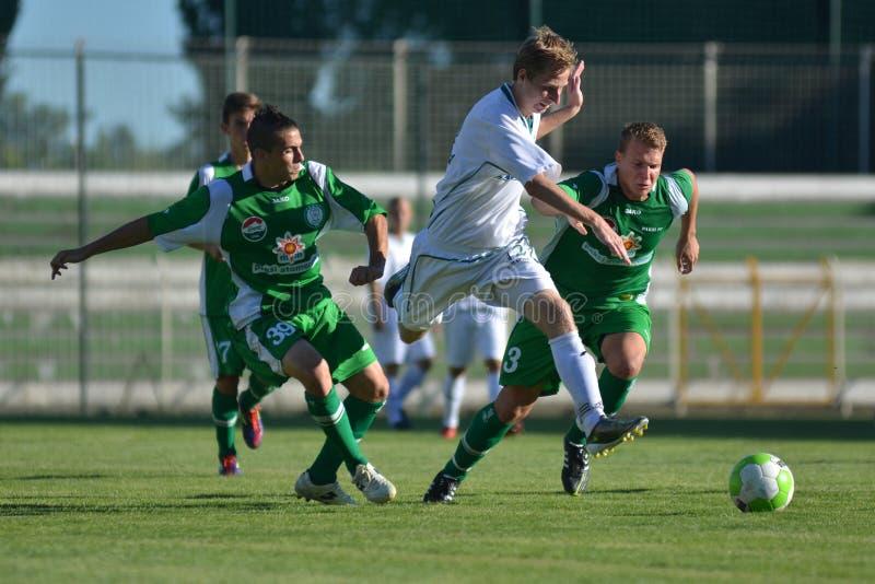 Kaposvar-Paks Under 19 Soccer Game Editorial Stock Photo