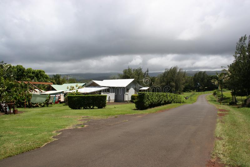 Kappau种植园村庄 免版税库存照片