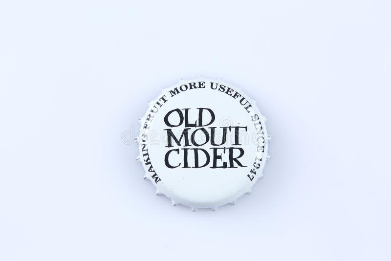 Kappen van bier en drank stock fotografie