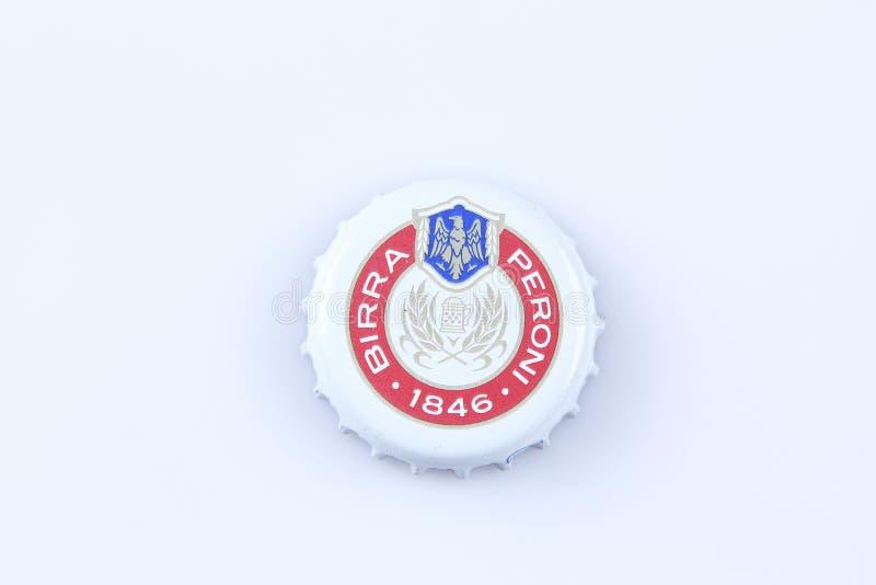 Kappen van bier en drank royalty-vrije stock afbeeldingen